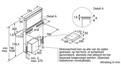 Máy hút mùi Bosch DDD96AM60