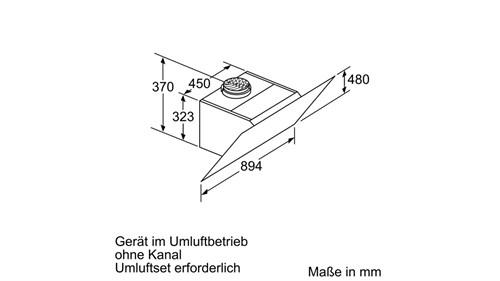 Máy hút mùi Bosch DWK98PR60