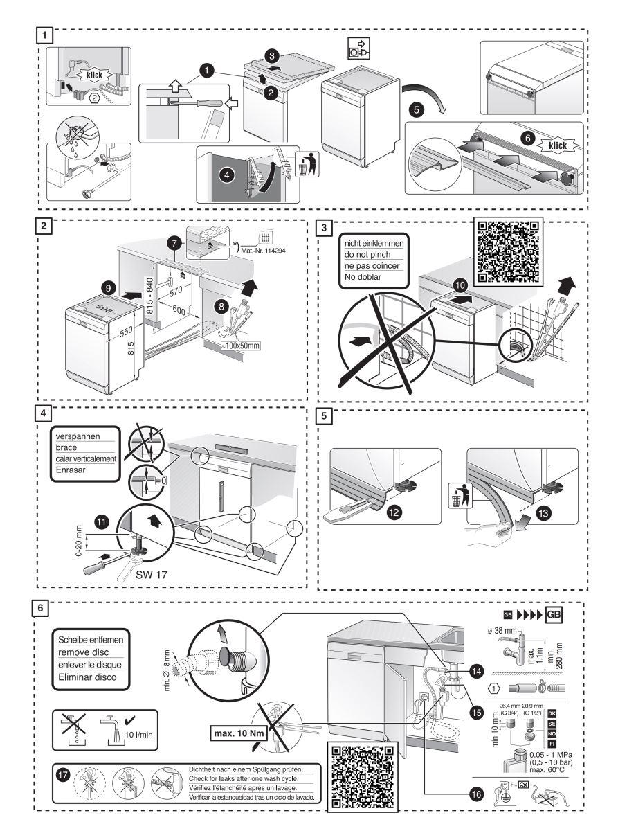 Máy rửa chén bát Bosch SMS6ZCI49E Sấy Zeolith