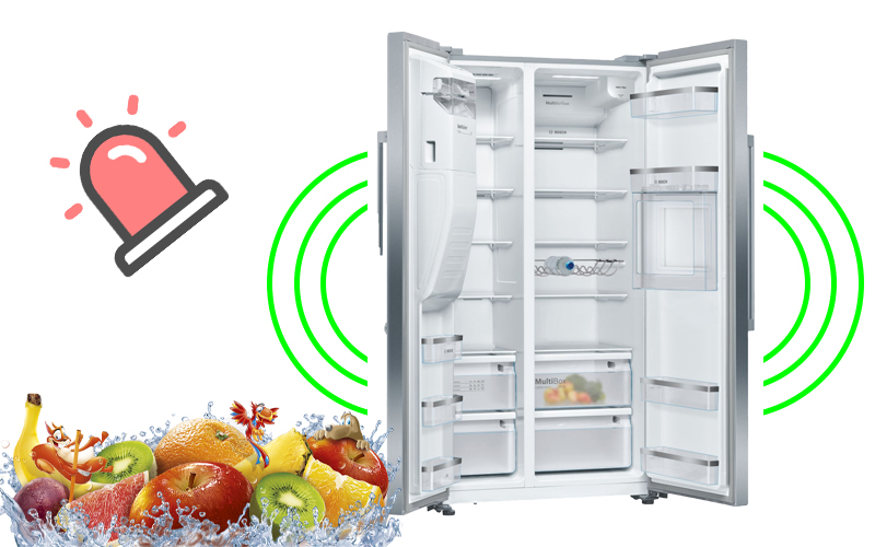 Tủ lạnh cao cấp Bosch KAG93AIEPG || Serie 6