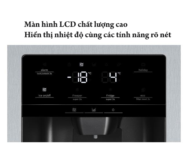 tủlạnh cao cấp Bosch KAG93AIEPG    Serie 6