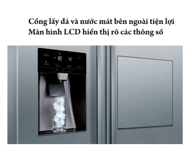 tủlạnh cao cấp Bosch KAG93AIEPG || Serie 6