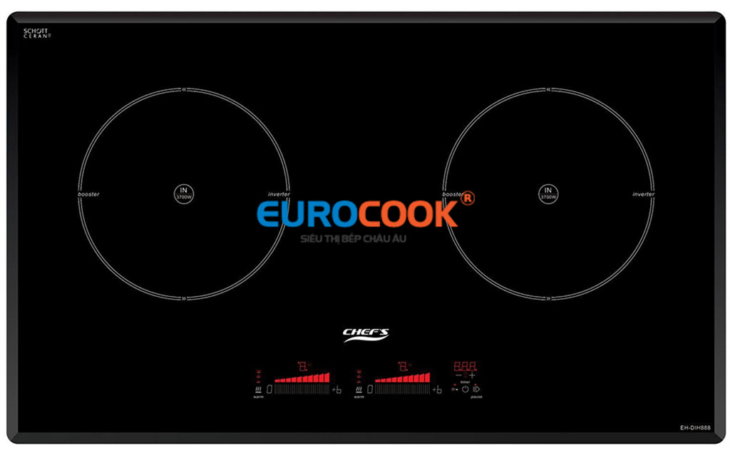 Bảng điều khiển bếp Chefs EH DIH888